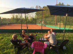 Espace extérieurs Tennis