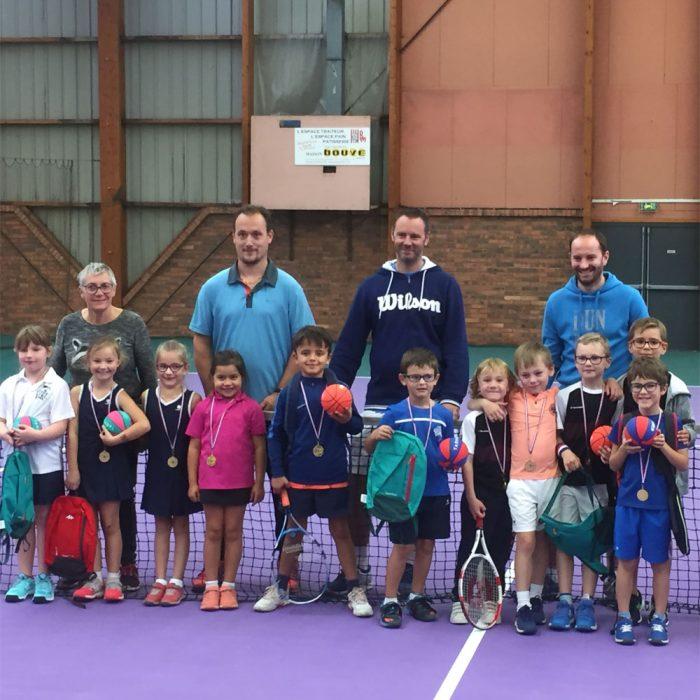 Plateau Jeunes Tennis club loon plage